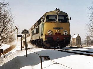 Lokomotywy SU45 z lat siedemdziesiątych prze lata kursowały bezawaryjnie w czasie zimy, teraz też to robią, ale już nie u nas, autor zdjęcia pbc